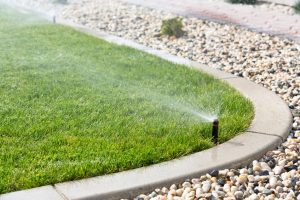 lawn sprinkler installation massachusetts
